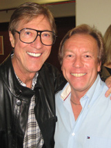 Hank Marvin and Richard Gower
