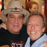 Ian Molly Meldrum and Richard Gower