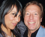 Kate Ceberano and Richard Gower