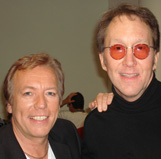 Richard Gower with Doug Fieger of The Knack - 2007