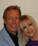 Richard with Sharon O'Neill